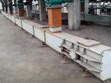 Großer Produktionskapazität-Ziegelstein-horizontaler örtlich festgelegter Bandförderer