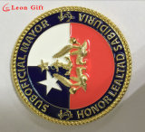 Personalizados de alta qualidade 3D Ouro moedas comemorativas de metal para presentes