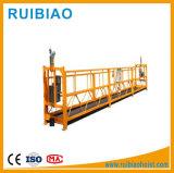 Het gegalvaniseerde Opgeschorte Platform van de Steiger van het Staal van de Steiger van het Aluminium van het Staal Steun