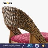 Cadeira do café da cadeira de Rattant