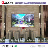 Alta visualización de pantalla video de interior al aire libre de la pared del brillo LED para hacer publicidad