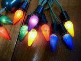 C7C9 E14 Navidad luces al aire libre del bulbo LED String