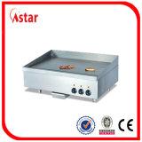 販売のための3つの温度調整のグリドル、電気カウンタートップのグリドルの商業台所装置