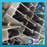 Profil en aluminium pour le tissu pour rideaux populaire de porte de guichet de bon modèle