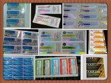 Étiquette pharmaceutique permanente de fiole de l'adhésif 10ml de modèle libre