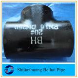 ASME B16.9 un tubo de acero al carbono WPB234 el racor recto T