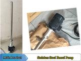 ステンレス鋼のバレルポンプ管の垂直ポンプ