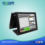 """(POS8815D) """" двойной экран касания все экрана 15 в одном кассовом аппарате PC"""