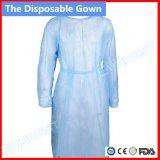 Nicht Woven/SMS/CPE medizinisches Kleid/Krankenhaus-Kleid/Surigcal Kleid/steriles verstärktes chirurgisches Wegwerfkleid des Chirurg-Gown/PP, Lokalisierungs-Kleid, geduldiges Wegwerfkleid