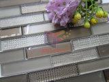Kristall mit PUNKT Effekt-Streifen-Form-Mosaik für Küche-Spritzen (CFS690)