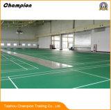 Pavimentazione da sempre del vinile di conteggio di volano di sport del PVC, facile pulire la pavimentazione del vinile di conteggio di volano di sport del PVC