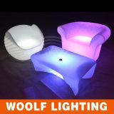 Sofà impermeabile di RGB della mobilia alla moda del LED
