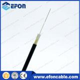 Cavo ottico della fibra piana di FTTH 12/24core con il membro di concentrazione di FRP