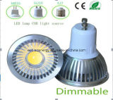 CE et Rhos Dimmable GU10 3W COB LED Light