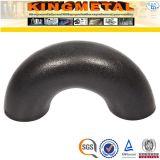Coude d'ajustage de précision de pipe d'acier du carbone de pouce 90d d'A234 Wpb 4
