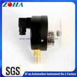 calibres de pressão elétricos comerciais do contato do diâmetro de 100mm com magnético