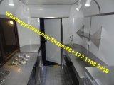 Handelskartoffel-Schlussteil, bewegliche Nahrung karrt Lebesmittelanschaffung-Schlussteil-Burger Van, Küche-Schlussteil/mobile Nahrungsmittelkarre