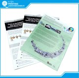 Prospecto Prining en línea del aviador del librete del folleto