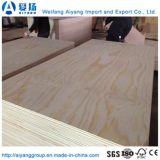 AA/AA Grade contreplaqué de bois de placage de pin de base de peuplier pour meubles