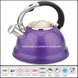 Whistle Kettle Pot Hervidor de té 3L Color Stainless Steel Tea Set Utensilios de cocina Utensilios de cocina