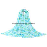 2016 gedruckter Polyester-Form-Schal für Frauen