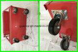 Carro vermelho industrial do serviço da bandeja do anúncio publicitário 3