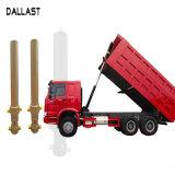 덤프 트럭 또는 트레일러에 의하여 크롬 도금을 하는 프런트 엔드 단 하나 임시 액압 실린더
