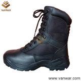 Ботинки хорошего боя конструкции воинские черноты (WCB048)