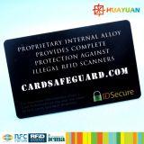 Mappen-Kreditkartesicherheits-Schutz RFID Blocker, der Karte blockt