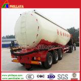 Silo de cal o tanque de aço de transporte de pó petroleiro Navio de cimento semi reboque para venda