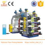 Nueva impresora de Flexo del color del diseño 4 para la película del polietileno