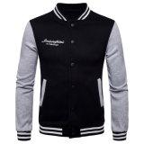 주문 자수 로고를 가진 고품질 형식 야구 재킷