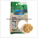 salud de la litera de gato de madera de pino del té verde de 6m m; Limpio