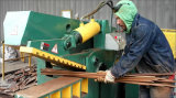 Máquina de corte de aço do metal da movimentação da estaca Q43-1600