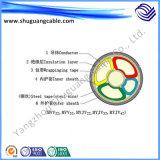 Силовой кабель PVC Sheath Electric Mining XLPE Insulation для угольной шахты