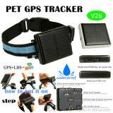 Chargement solaire Tracker GPS périphérique pour les animaux de compagnie (V26)
