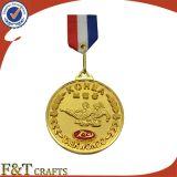 Medaglia antica su ordinazione del metallo del gioco di sport per Soiuvenir
