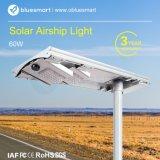 50W 60W LiFePO4 battery calle la luz solar
