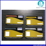 Impression quatre couleurs Design personnalisé pour les entreprises de la carte plastique PVC