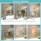Modernes Badezimmer-handgemachter schnitzender dekorativer Spiegel Artware