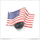 단 하나 측 졸라매는 끈 Microfiber 안경알 주머니는 미국 국기로 인쇄했다