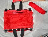 Складной мешок бакалеи покупкы для вагонеток супермаркета & несущей тележки