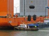 Nave/saco hinchable de goma del barco/del vaso/sacos hinchables marinas inflables del caucho natural que mueven la elevación