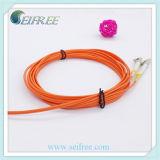 Duplex LC Multimode Fiber Optic Pigtail