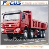 Tombereau des roues 371HP 8X4 de HOWO 30cubic 12/camion à benne basculante lourds