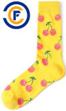 De aangepaste Unisex-Sokken van de Manier van Katoenen Elastane van de Polyester