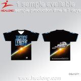 販売のためのHealong中国の工場衣類ギヤ昇華人のTシャツ