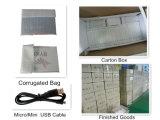 Zoll LCD der Geschäfts-Geschenk-Gebrauch-video Broschüre-5/TFT Bildschirm-videogruß-Karte 128MB mit 3 Tasten