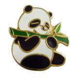 Distintivo animale di Pin del risvolto del panda sveglio dello smalto del regalo del metallo del ricordo