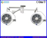 Regelbare LEIDENE van de Helderheid van de Apparatuur van het ziekenhuis plafond-Dubbele Hoofd Werkende Lamp Ot